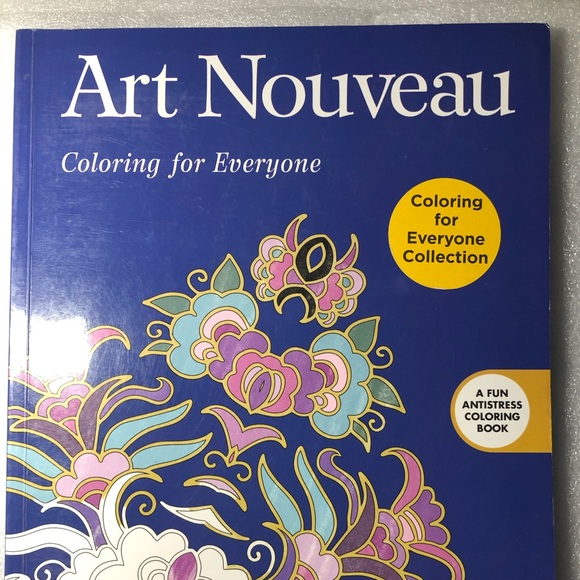 - Art Nouveau Other Coloring Book Poshmark